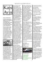 OG FLYVESTATIONS - KAJ´s AVIS