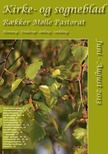 Se kirkeblad Juni-August 2013