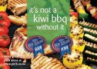 kiwi bbq - NZ Pork