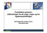 Fremtidens pension - Fremtidsforskeren Jesper Bo Jensen