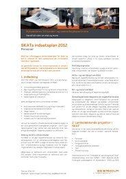 SKATs indsatsplan 2012 - Beierholm