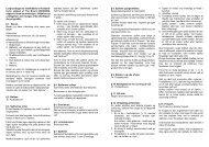 Lovgrundlaget for indefodbold er Fodbold- loven udgivet ... - BK Vest