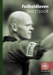 Fodboldloven 2007/2008