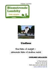 Blomstrende Landsby - Undløse Lokalråd