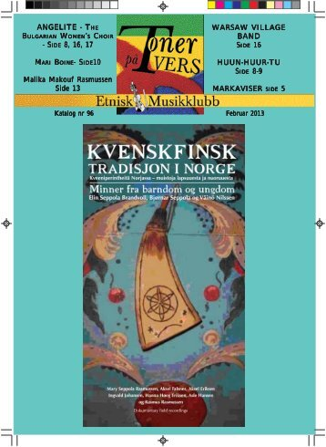 Katalog nr 96 - Velkommen til Etnisk Musikklubb