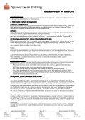 MasterCard Kredit regler - Sparekassen Balling - Page 5