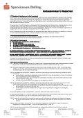 MasterCard Kredit regler - Sparekassen Balling - Page 7