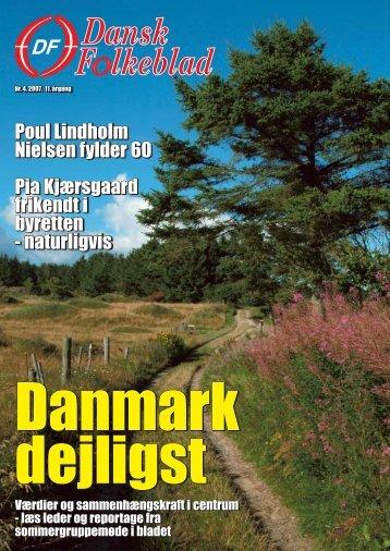 Poul Lindholm Nielsen fylder 60 Pia Kjærsgaard ... - Dansk Folkeparti