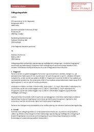 Udkast til Udbygningsaftale - Gladsaxe Kommune