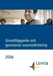 Grundläggande gymnasial vuxenutbildning, katalog - Lernia