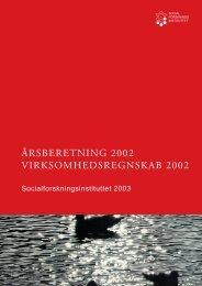 Hent Årsberetning 2002 som pdf. - SFI
