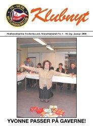 Klubbladet Januar 2008 - Frederiksværks Motorbådsklub