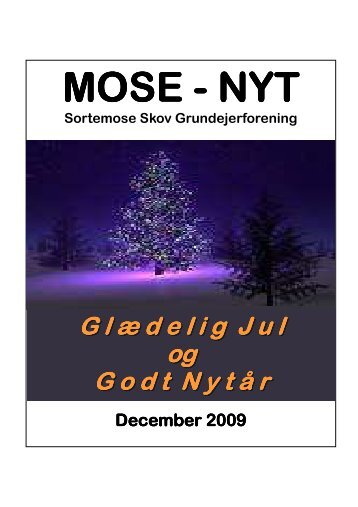 MOSE - NYT - Sortemose Skov Grundejerforening