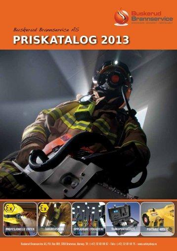 Priskatalog 2013 - Buskerud Brannservice