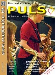 Læs det nye PULS her! - Næstved Musik- og Kulturskole