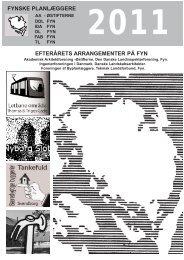 Fynske planlæggeres efterårsprogram 2011 - Danske ...