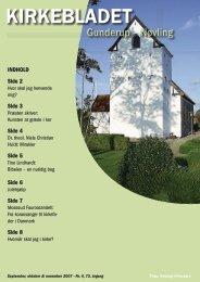 KIRKEBLADET - Nøvling kirke