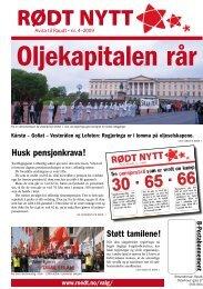 Rødt nytt 04 2009 som pdf