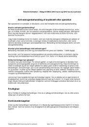 Anti-østrogenbehandling af brystkræft efter operation ... - DBCG
