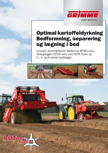 Download tekniske data. - Grimme Skandinavien A/S