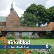 Kirkeblad nr 6 - Løgumkloster Kirke