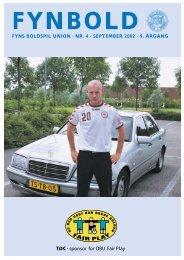 fyns boldspil union · nr. 4 · september 2002 · 9. årgang - DBU Fyn
