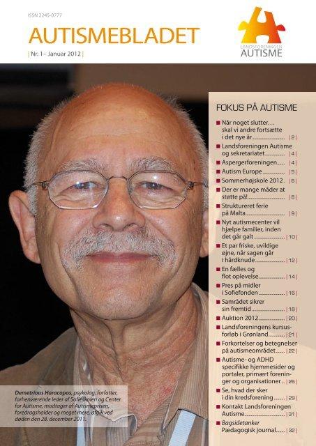 Medlemsblad nr. 1, 2012 - Landsforeningen Autisme