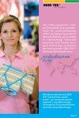 Din garanti for tekstiler du kan stole på! - Oeko-Tex - Page 5