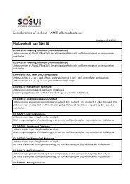 Konsekvenser af lockout - AMU-efteruddannelse: - SOSU Nord