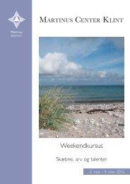 Weekendkursus - Martinus Institut