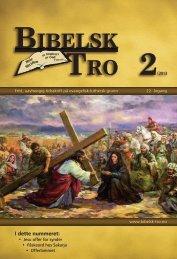 Bibelsk Tro nr.2 2013 - Shafan.dk