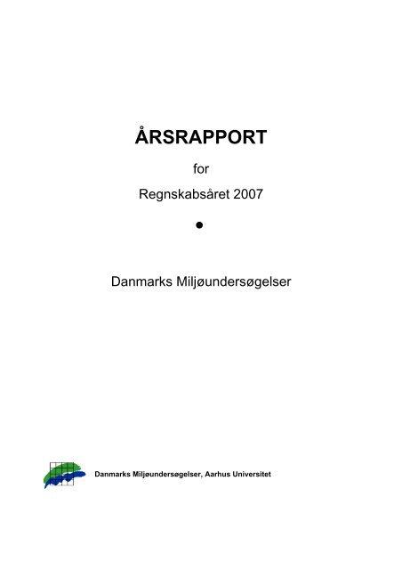 Årsrapport 2006 - DCE - Nationalt Center for Miljø og Energi