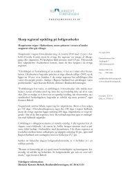 Pressemeddelelsen inkl. figurer (pdf) - Realkreditforeningen