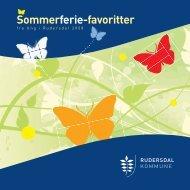 Sommerferie-favoritter - Rudersdal WEBBY