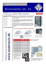 Nyhedsbrev nr. 23 - Andertech Plastteknik A/S