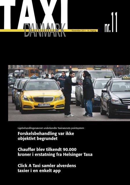Chauffør blev tilkendt 90.000 kroner i erstatning fra ... - TaxiDanmark