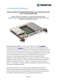 Digital Text (pdf) - Kontron