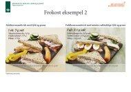 Se billedemateriale på frokost eksempel 2 - Altomkost.dk