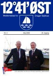 Nr. 2 Maj 2008 35. årgang - Dragør Sejlklub