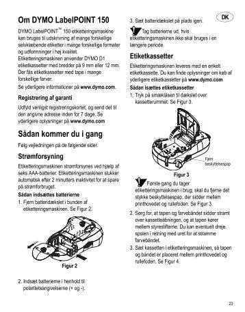 Om DYMO LabelPOINT 150