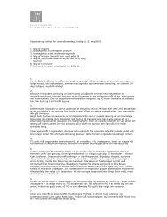 Dagsorden og referat for generalforsamling, tirsdag d. 13 ... - dasfas