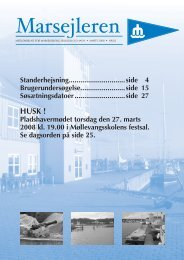 Marsejleren nr. 2 2008 - Marselisborg Sejlklub