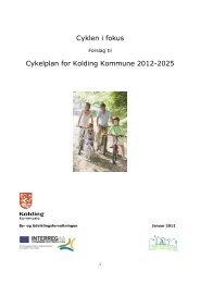 Cykelplan 2012-2025 - Cykler uden grænser