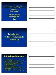 Oplæg fra Ungemessen 19-20 August 2005. Oplægget ... - OPUS