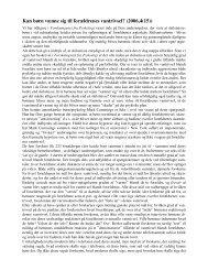 Kan børn vænne sig til forældrenes vantrivsel? (2006,4(15))