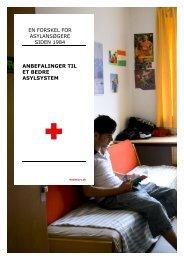 EN FORSKEL FOR ASYLANSØGERE SIDEN 1984 ... - Røde Kors