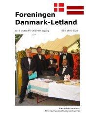 Blad nr. 3 - 2009 - Foreningen Danmark - Letland