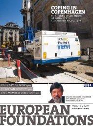 COPING IN COPENHAGEN - European Foundations