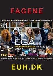 Film & Foto musik design kunst - Egå Ungdoms-Højskole