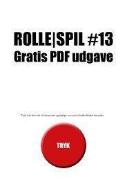 Gratis PDF udgave - Magasinet ROLLE|SPIL